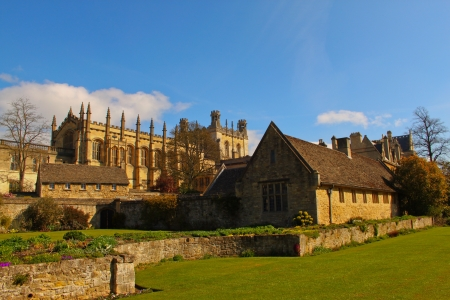 Christ Church College - Picture of Christ Church College in Oxford UK  Stock Photo