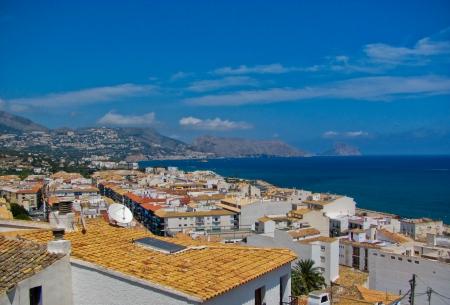 altea: Mediterranean resort of Altea Costa Blanca Spain