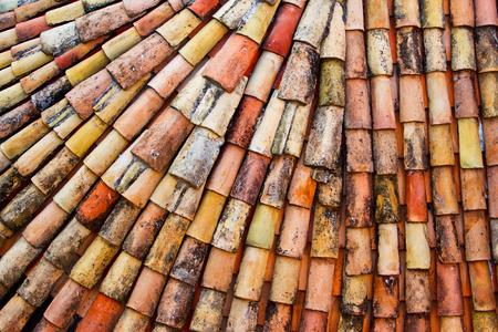 Dubrovnik, Croatia  Tiled rooftops of old town