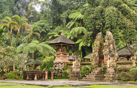 A typical Balinese temple