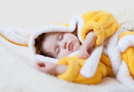 Sweet dream  little beautiful  girl
