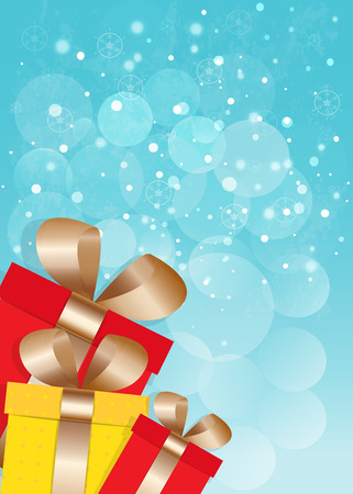 cristmas card: New Year and Cristmas card Vector EPS10