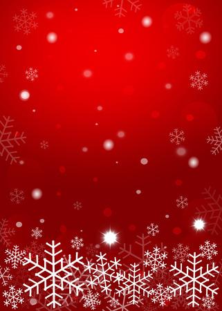 Red Christmas Hintergrund. Vektor-EPS10. Vektorgrafik