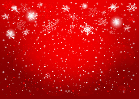 Red Christmas background. Vecteur EPS10. Illustration