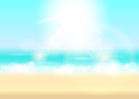 Happy summer time background.