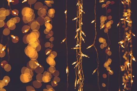 多重の抽象的な背景。クリスマスと新年のパーティーのためのチョコレート色。