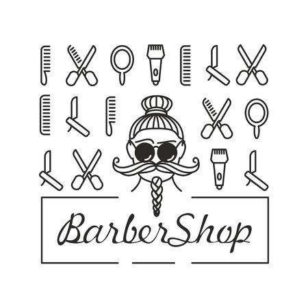Barber shop and hairstyle