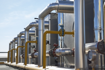 compresor: Planta Central del sistema de calefacción