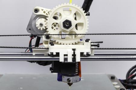 disruptive: Home made 3d printer rack and pinion detail