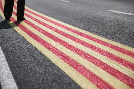 separatist: Catalan Way Stock Photo