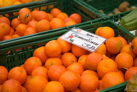 clementines at market