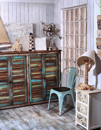 wood rustic: viajes por mar de estilo esquina interior shabby chic