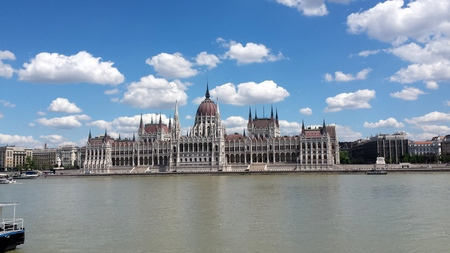 buzzer: Budapest Parliament Stock Photo