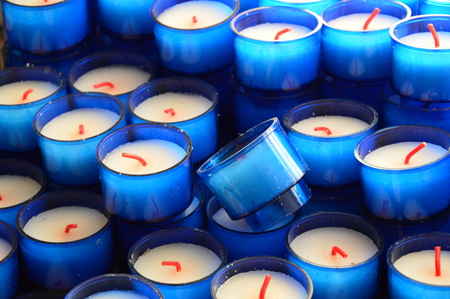 blue candles: Blue Candles