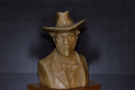 frederic: Frederic Mistral Represented in wax, a famous and typical character of Provence, south of France.