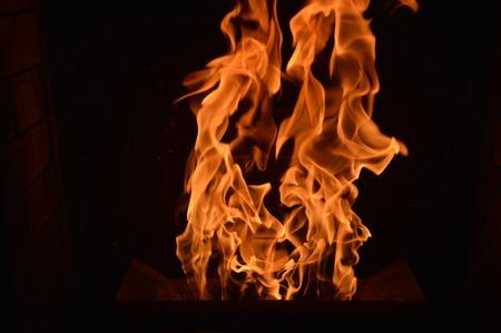 wood pellets: Wood Pellets in the Fire