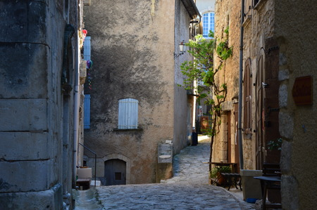 typical: Typical French (south of France) narrow streets