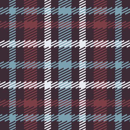 Vector senza soluzione di modello di tartan scozzese in blu, rosso, bianco, blu scuro. disegno celtico britannico o irlandese per le industrie tessili, abbigliamento, tessuto o per il confezionamento, sfondi, carta da parati