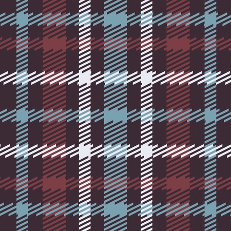 Vector seamless tartan écossais en bleu, rouge, blanc, bleu marine. conception celtique britannique ou irlandais pour le textile, les vêtements, le tissu ou pour envelopper, milieux, papier peint