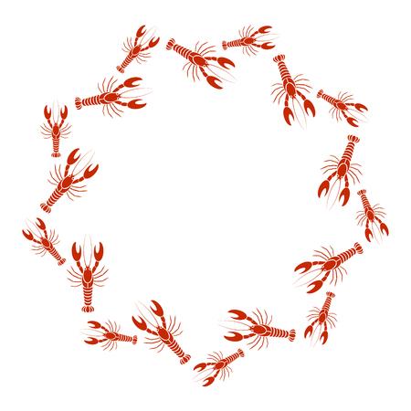 Icono De Cangrejos. Ilustración Simple Del Icono De Vector De ...