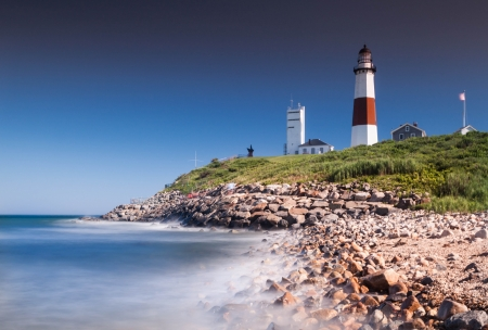 end of a long day: Montauk Point Lighthouse, Long Island, New York