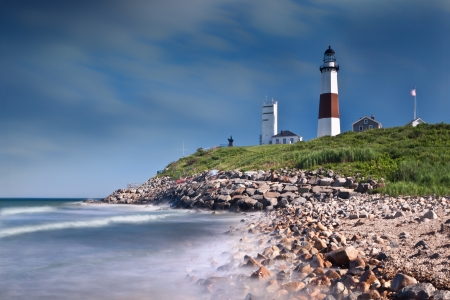 Montauk Point Lighthouse Imagens - 19757237