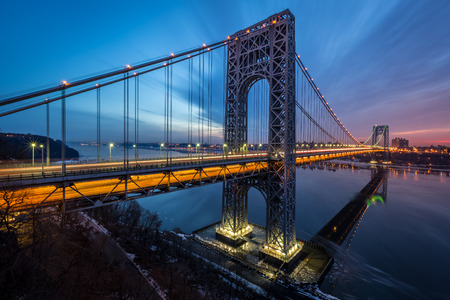 Goerge Washington Bridge sunrise photo