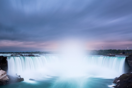 horseshoe falls: Horseshoe Falls at Niagara Falls viewed from the canadian side