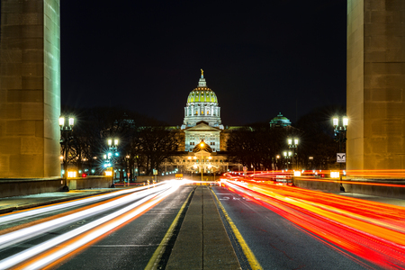 Pennsylvania State Capitol, the seat of government for the U.S. state of Pennsylvania, located in Harrisburg