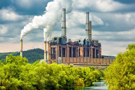 石炭発電所