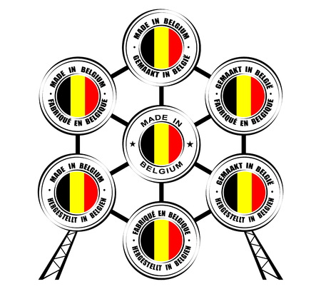 Collection of round labels