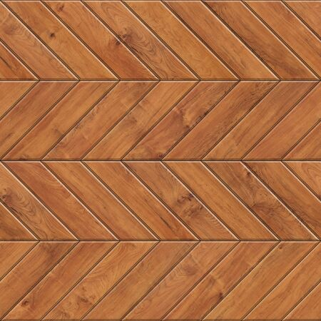 Seamless texture of chevron wooden parquet. High resolution pattern of natural wood