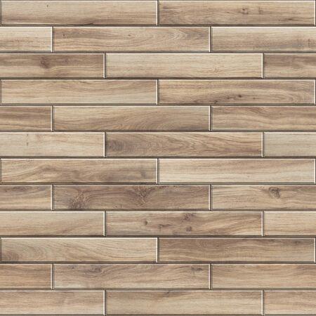 Seamless texture of striped wooden parquet. High resolution pattern of light natural wood Standard-Bild
