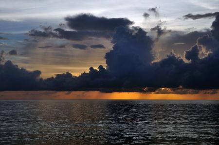 Sunset at Kohkood, Eastern Thailand