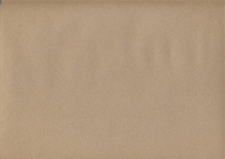 Sheet of brown paper Stock Photo - 8744762