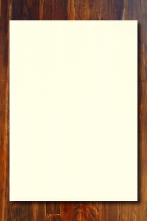 Eye Care Paper  on wood  background