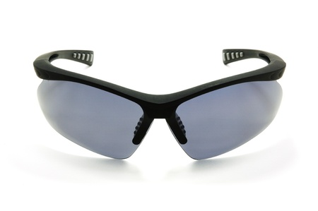 dark sunglasses isolated on a white background Stock Photo