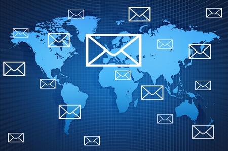 World wind Mail communication photo