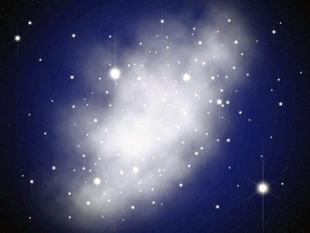 Star in the sky photo