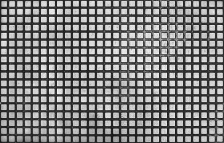 Escalator Stainless Steel Floor Plate texture. Banco de Imagens - 57260450