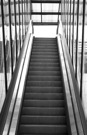 Outdoor Escalator.