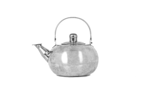 Tea Kettle isolated on white background. Banco de Imagens