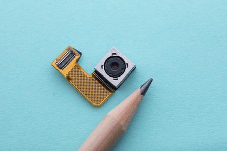 Mini spy hidden camera concept