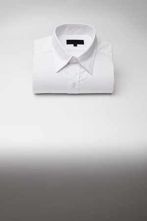 Mens casual shirt folded with copy space, Be prepared for your upcoming Christmas