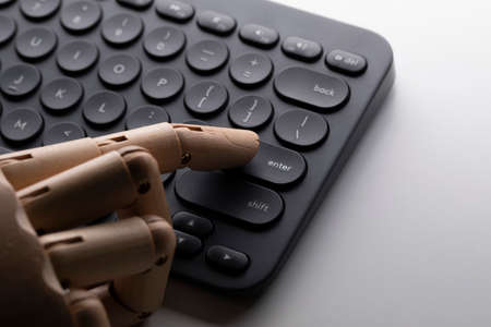 Robot replace human jobs concepts