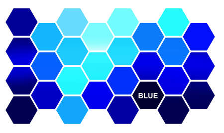 Symbolic representation of a blue life