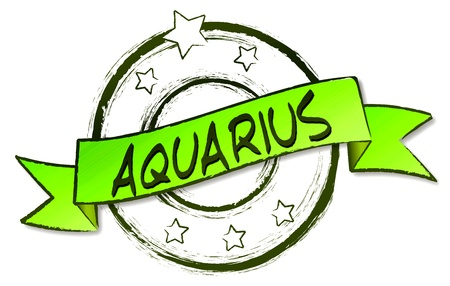 Retro Illustration of the zodiacs for your horoscope Stock Illustration - 12960922