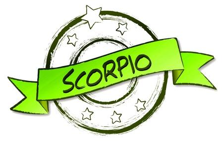 Retro Illustration of the zodiacs for your horoscope Stock Illustration - 12960919