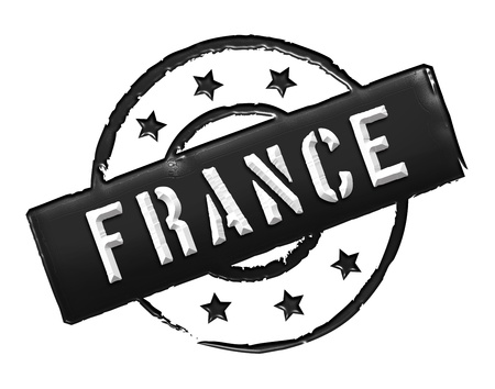 stempel: Sign and stamp named FRANCE for your presentation, for websites and many more