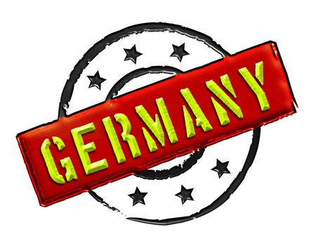 Sign and stamp named Germany for your presentation, for websites and many more  photo